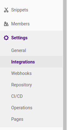 Gitlab Integrations